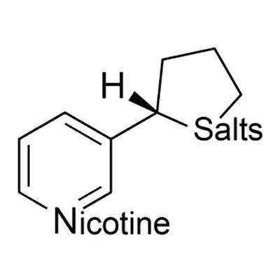 Nicotina de sales concentrada para vapear e-liquid